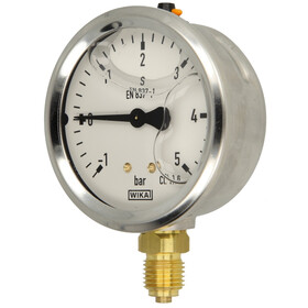 Glyzerin- Manometer 1/4 radial