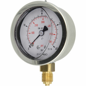 Glyzerin-Manometer 1/4 radial