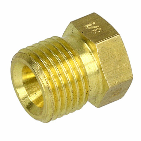 "15 mm x ¾/"" AG Messing Pressfitting Übergangsnippel"