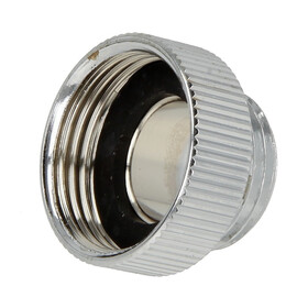 Reducer 3/4 IT x 1/2 ET chrome-plated brass