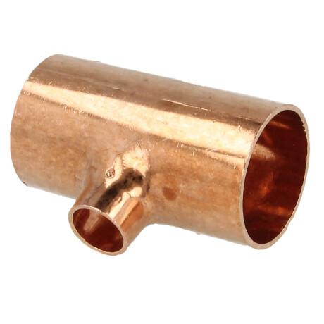 Kupfer Steckfitting Tectite T-Stück reduziert 28 mm x 28 mm x 15 mm 2 Stück