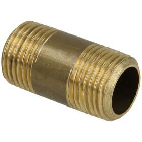 "Viega Rotguss Messing Langnippel 1//2""x200 mm Viega Rohr Nippel Verbindung"